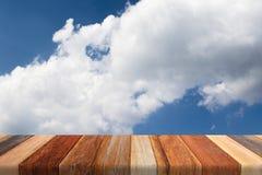 Blauwe hemel en bewolkt Royalty-vrije Stock Fotografie