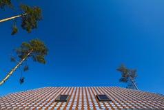 Blauwe hemel en daktegels Royalty-vrije Stock Foto's