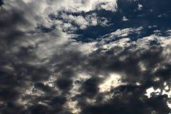 Blauwe hemel en wolk Royalty-vrije Stock Afbeelding