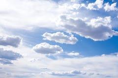 Blauwe Hemel en Wolken Royalty-vrije Stock Afbeelding