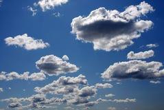 Blauwe hemel en wolken Royalty-vrije Stock Foto