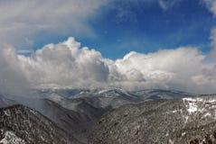 Blauwe hemel en wolken Stock Afbeelding