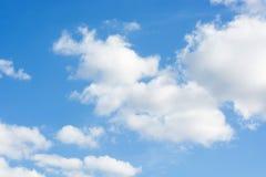 Blauwe hemel met wolk Royalty-vrije Stock Afbeelding