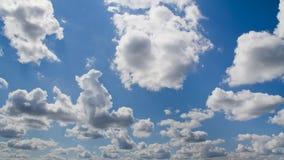 Blauwe Hemel met Wolken Stock Fotografie