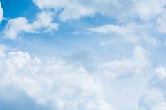 Blauwe Hemel met Wolken Royalty-vrije Stock Fotografie