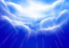 Het blauw van de hemel royalty-vrije stock foto's