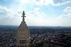 Blauwe hemel over Parijs 2 royalty-vrije stock foto's