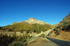 Blauwe hemel over Tenerife Royalty-vrije Stock Fotografie