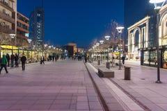 Blauwe hemel van stad Royalty-vrije Stock Foto's