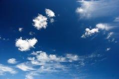 Blauwe hemelachtergrond Royalty-vrije Stock Afbeelding