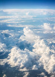 Blauwe hemelachtergrond Stock Afbeeldingen