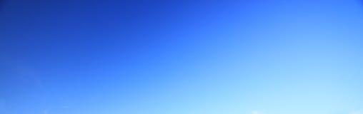 Blauwe hemelachtergrond geen wolk Royalty-vrije Stock Afbeelding