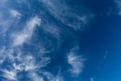 Blauwe hemelachtergrond, weer Grote Dag stock illustratie