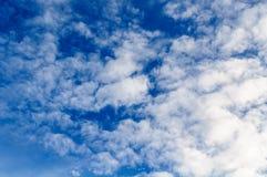 Blauwe hemelmening Stock Foto's