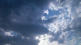Blauwe hemelwolken Royalty-vrije Stock Afbeelding
