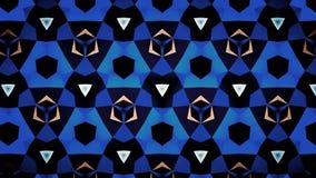 Blauwe het patroonachtergrond van de Saffierluchtspiegeling bokeh Royalty-vrije Stock Afbeelding