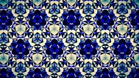 Blauwe het patroonachtergrond van de Saffierluchtspiegeling bokeh Stock Foto