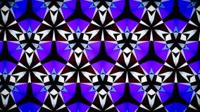 Blauwe het patroonachtergrond van de Saffierluchtspiegeling bokeh Stock Fotografie