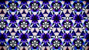 Blauwe het patroonachtergrond van de Saffierluchtspiegeling bokeh Royalty-vrije Stock Foto