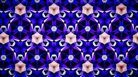 Blauwe het patroonachtergrond van de Saffierluchtspiegeling bokeh Stock Afbeelding