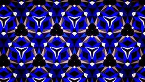 Blauwe het patroonachtergrond van de Saffierluchtspiegeling bokeh Royalty-vrije Stock Foto's