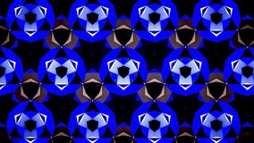 Blauwe het patroonachtergrond van de Saffierluchtspiegeling bokeh Royalty-vrije Stock Afbeeldingen