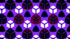 Blauwe het patroonachtergrond van de Saffierluchtspiegeling bokeh Stock Foto's