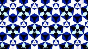 Blauwe het patroonachtergrond van de Saffierluchtspiegeling bokeh Stock Afbeeldingen