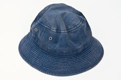 Blauwe hoed Royalty-vrije Stock Fotografie