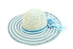 Blauwe hoed stock fotografie