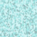 Blauwe Honingraat Abstract vectorbeeld Reclamelay-out stock illustratie