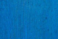 Blauwe Houten Achtergrond Stock Foto