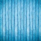 Blauwe houten achtergrond royalty-vrije stock foto's