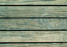 Blauwe houten achtergrond Natuurlijke houten textuur met horizontale lijnen Royalty-vrije Stock Afbeelding