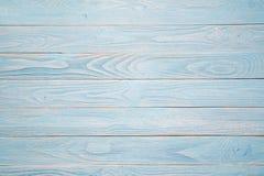 Blauwe houten achtergrond Rustieke stijl Stock Foto's