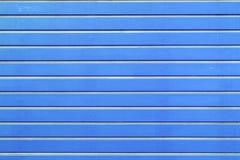 Blauwe houten latachtergrond Stock Afbeelding