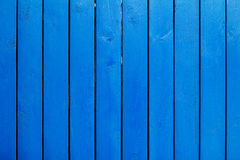 Blauwe houten muur stock foto