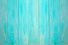 Blauwe houten muur Royalty-vrije Stock Foto