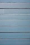 Blauwe houten raad Stock Afbeeldingen