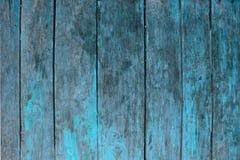Blauwe houten textrueachtergrond Stock Afbeelding