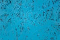 Blauwe houtvezelplaat Ruwe Oppervlaktetextuur stock foto