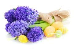 Blauwe hyacint stock fotografie