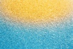 Blauwe ijs abstracte natuurlijke achtergrond Stock Afbeelding