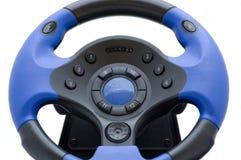 Blauwe joypad Stock Foto's