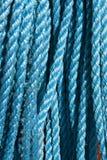Blauwe kabel Stock Fotografie