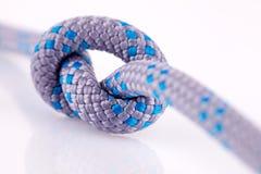 Blauwe kabelknoop Stock Afbeeldingen