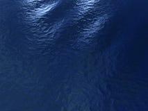 Blauwe kalme oceaanoppervlakte Royalty-vrije Illustratie