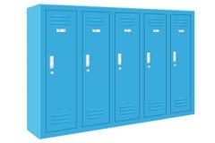 Blauwe Kasten Royalty-vrije Stock Afbeelding