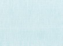 Blauwe katoenen stof Stock Foto