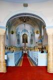 Blauwe kerk royalty-vrije stock foto